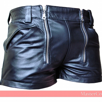 Short Leather Trousers  ''Bavar''